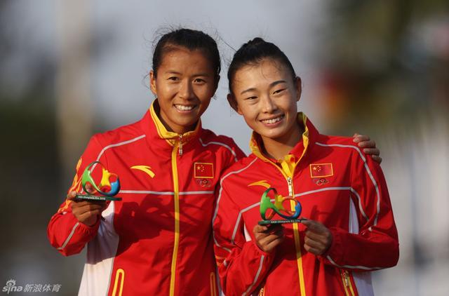 北京时间8月20日,田径女子20公里竞走中国选手刘虹夺金。