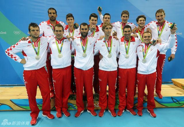 北京时间8月21日,男子水球决赛,塞尔维亚击败克罗地亚夺金。