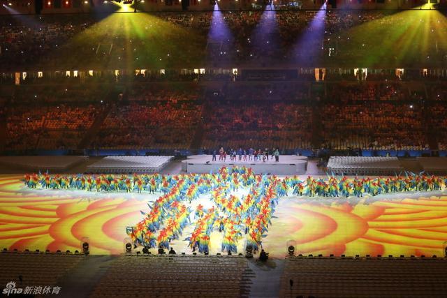 8月22日,2016年里约奥运会闭幕式举行,新浪体育直击现场。新浪体育/李欣 摄