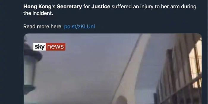 倫敦警方正調查香港律政司長遇襲 尚未逮捕任何人